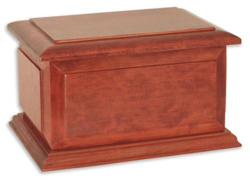 Boston II Pet Urn | Cherry Wood