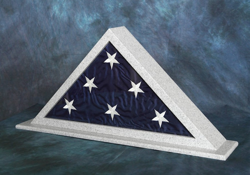Gray Granite Flag Case