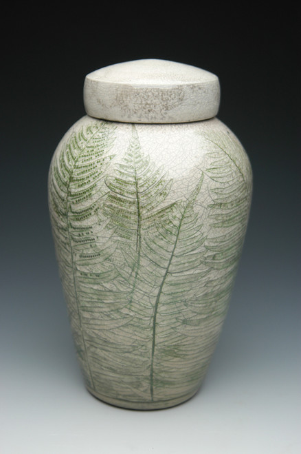 Fern Leaves Companion Urn