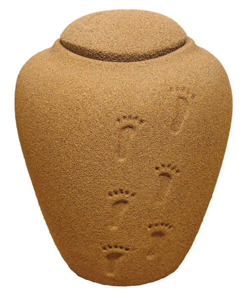 Sand & Gelatin Burial Urn - Sand