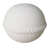 Sand & Gelatin Burial Urn - Round with White Quartz Sand