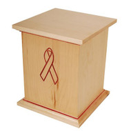 Awareness Ribbon Cremation Urn
