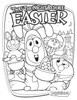 Veggietales Twas The Night Before Easter Coloring Page