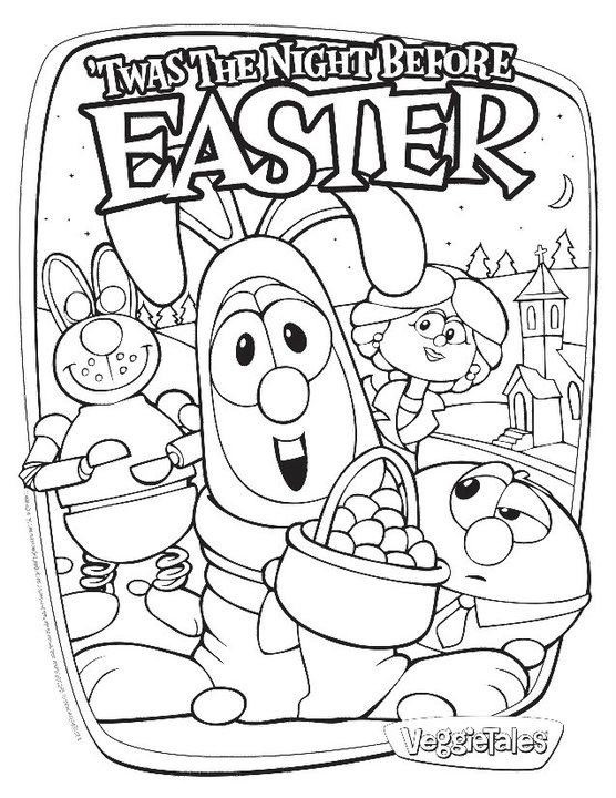 Free Veggie Tales Easter Coloring Pages, Download Free Clip Art ... | 720x556