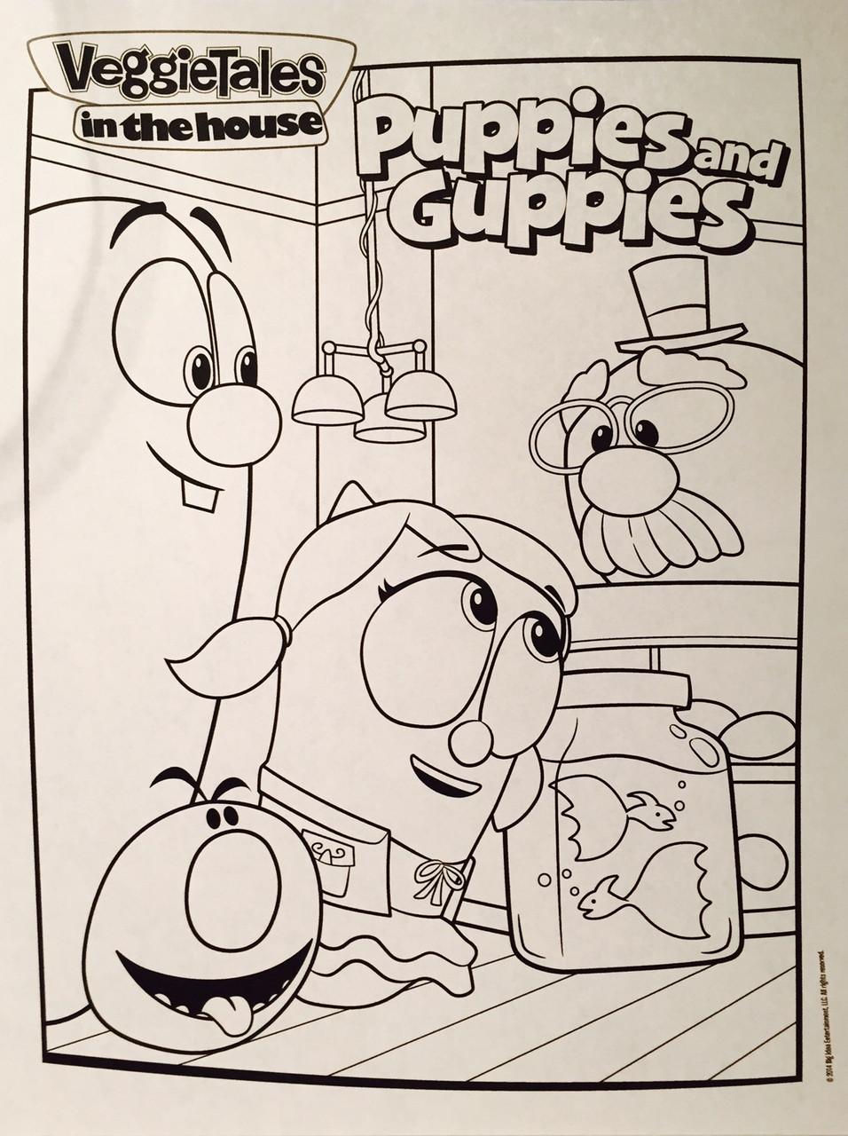 Philip A. Buck: Coloring VeggieTales Super Comics: Minnesota Cuke ... | 1280x956