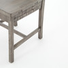 Cintra Rustic Reclaimed Wood Dining Room Chair- Gray