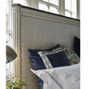 Sojourn French Upholstered King Size Panel Bed Frame