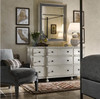 Sojourn French Country Solid Wood 9 Drawer Double Dresser
