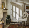 Sojourn French Country White Armoire Cabinet