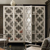 Belgian Cottage 2 Door Armoire - Antiqued White