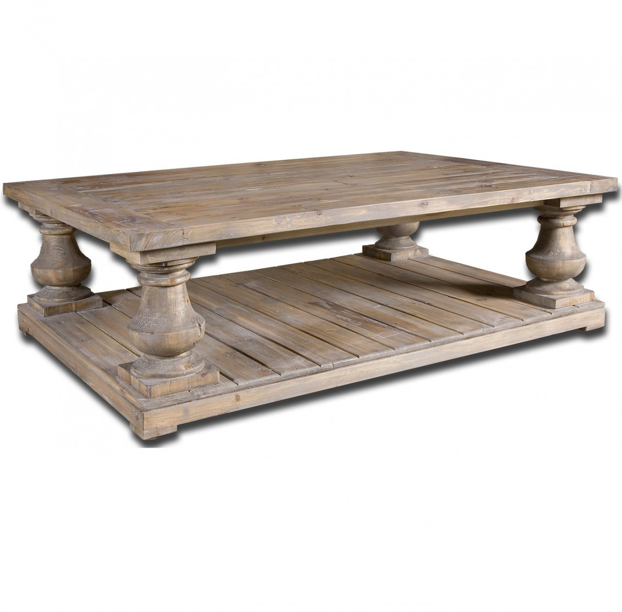 Salvaged Wood Rustic Coffee Table 60 Quot Zin Home