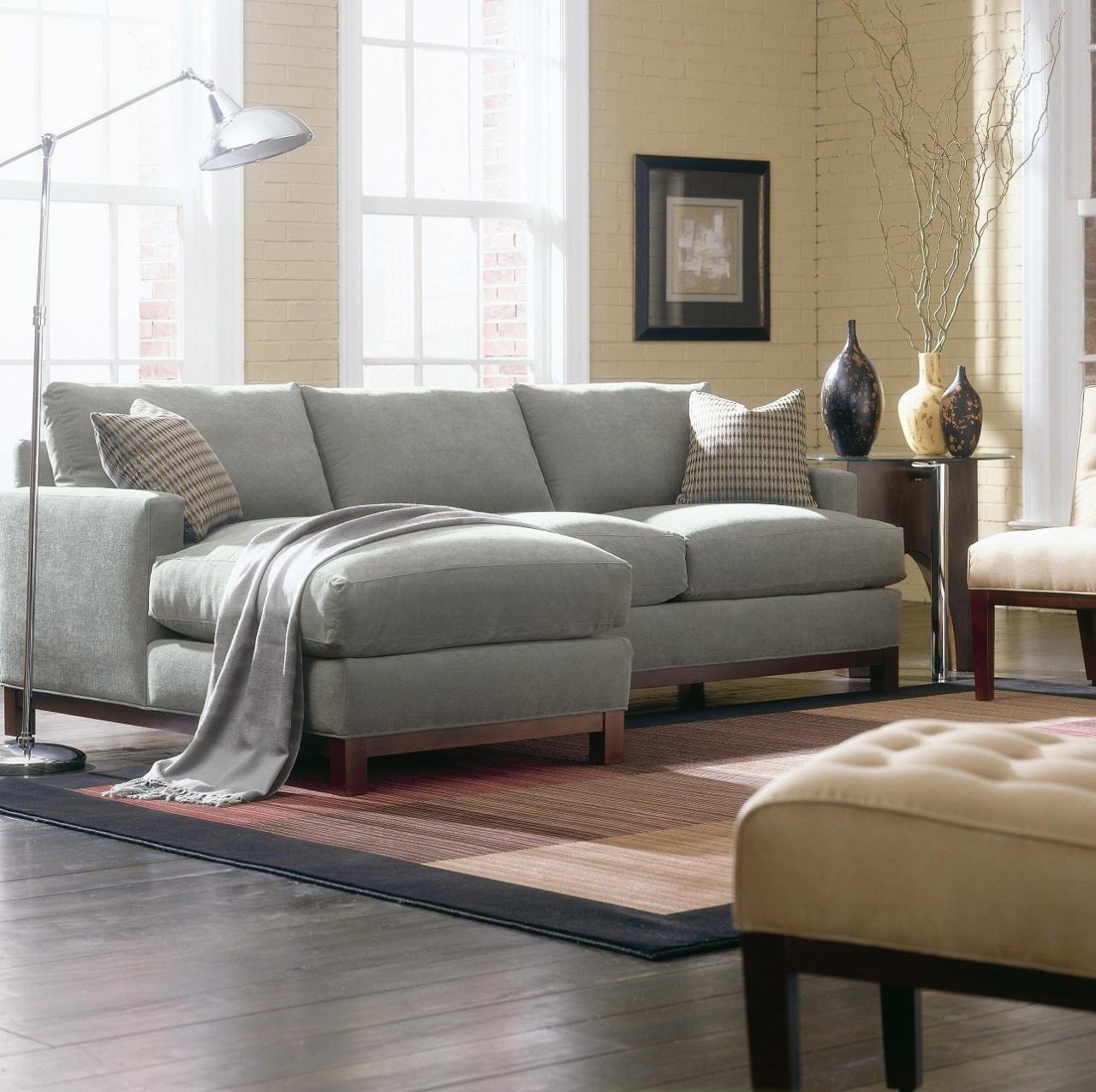 Rowe Sullivan Mini Mod Sectional Sofa Zin Home