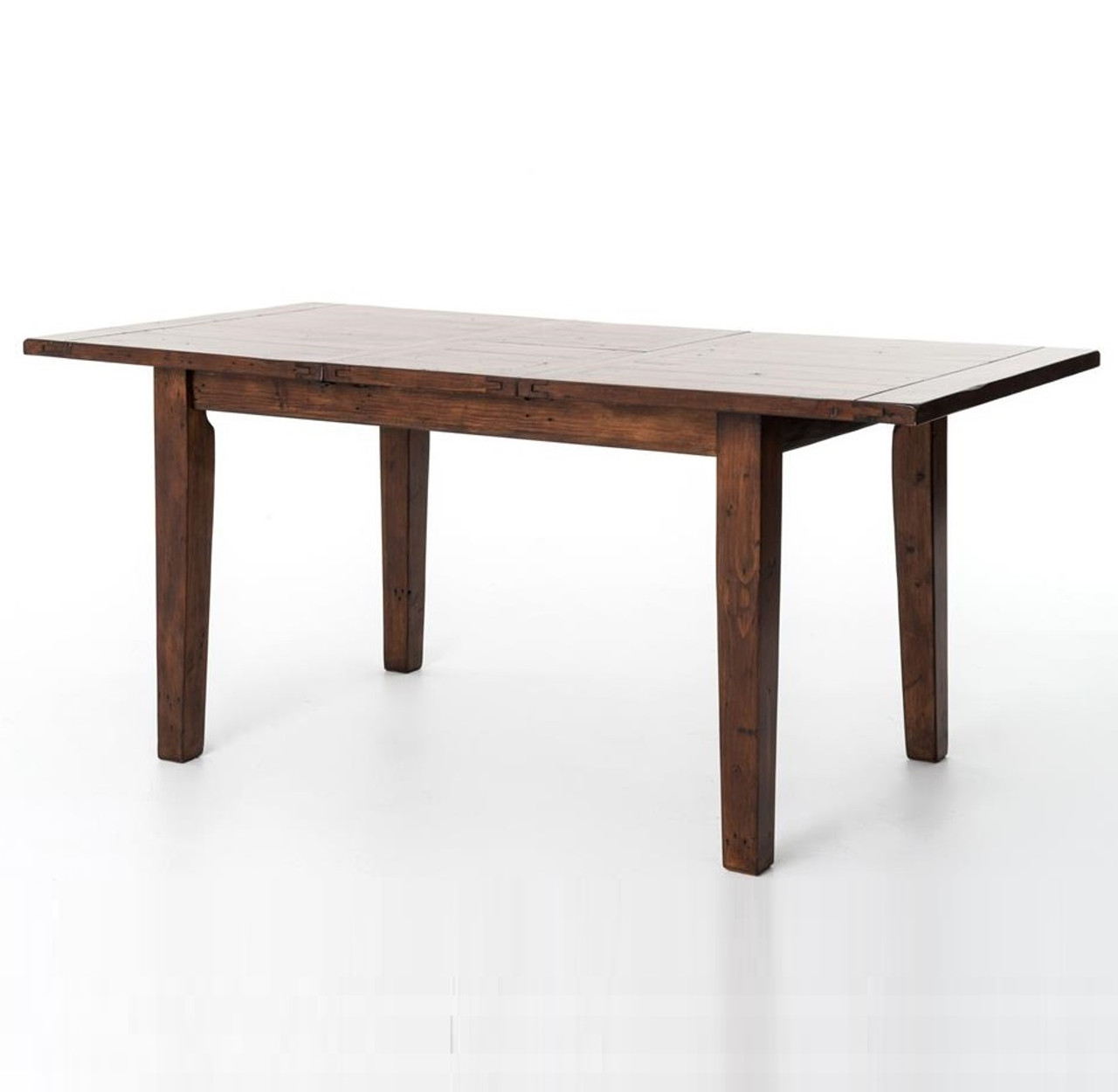 Small Extendable Dining Table Coastal Rustic Small Extending Dining Table  Zin Home