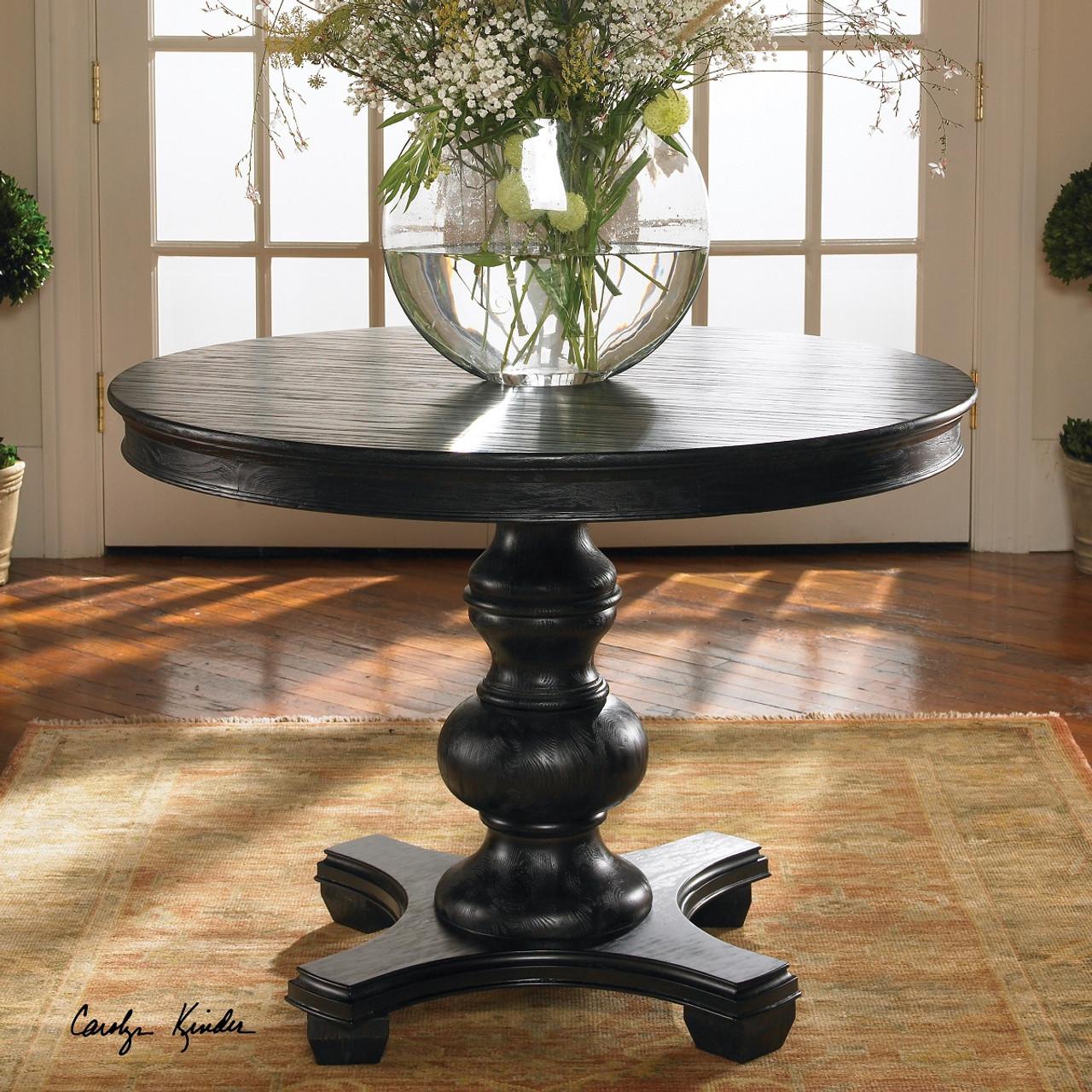 Round Pedestal End Table Round Designs