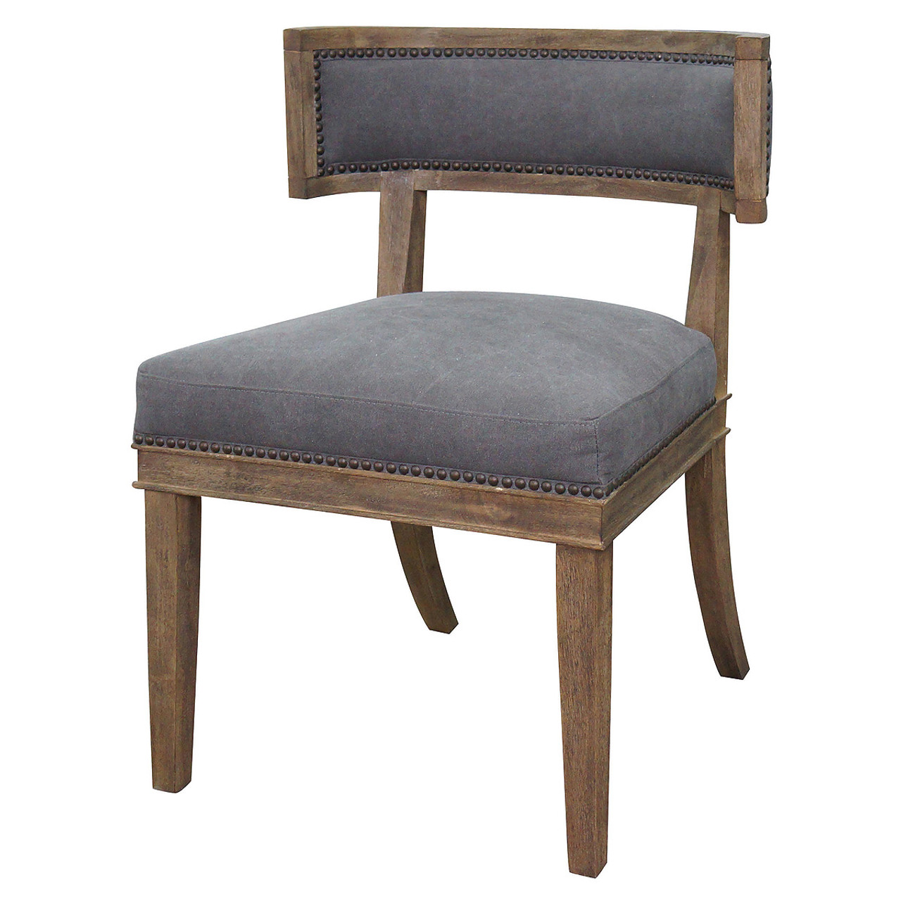 Carter Upholstered Curved Dining Chair