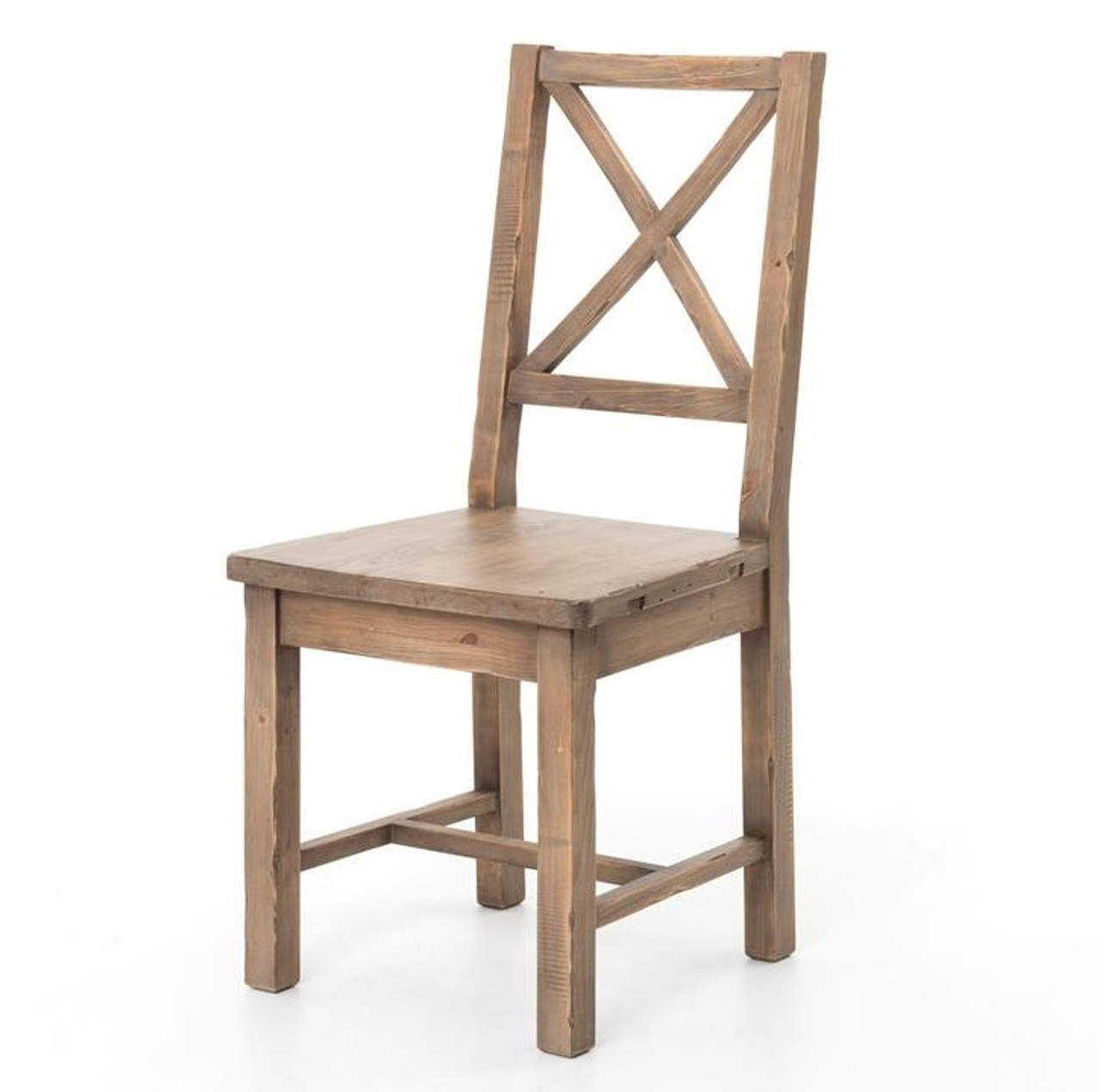 Rustic Dining Room Furniture: Coastal Rustic Solid Wood Dining Room Chair