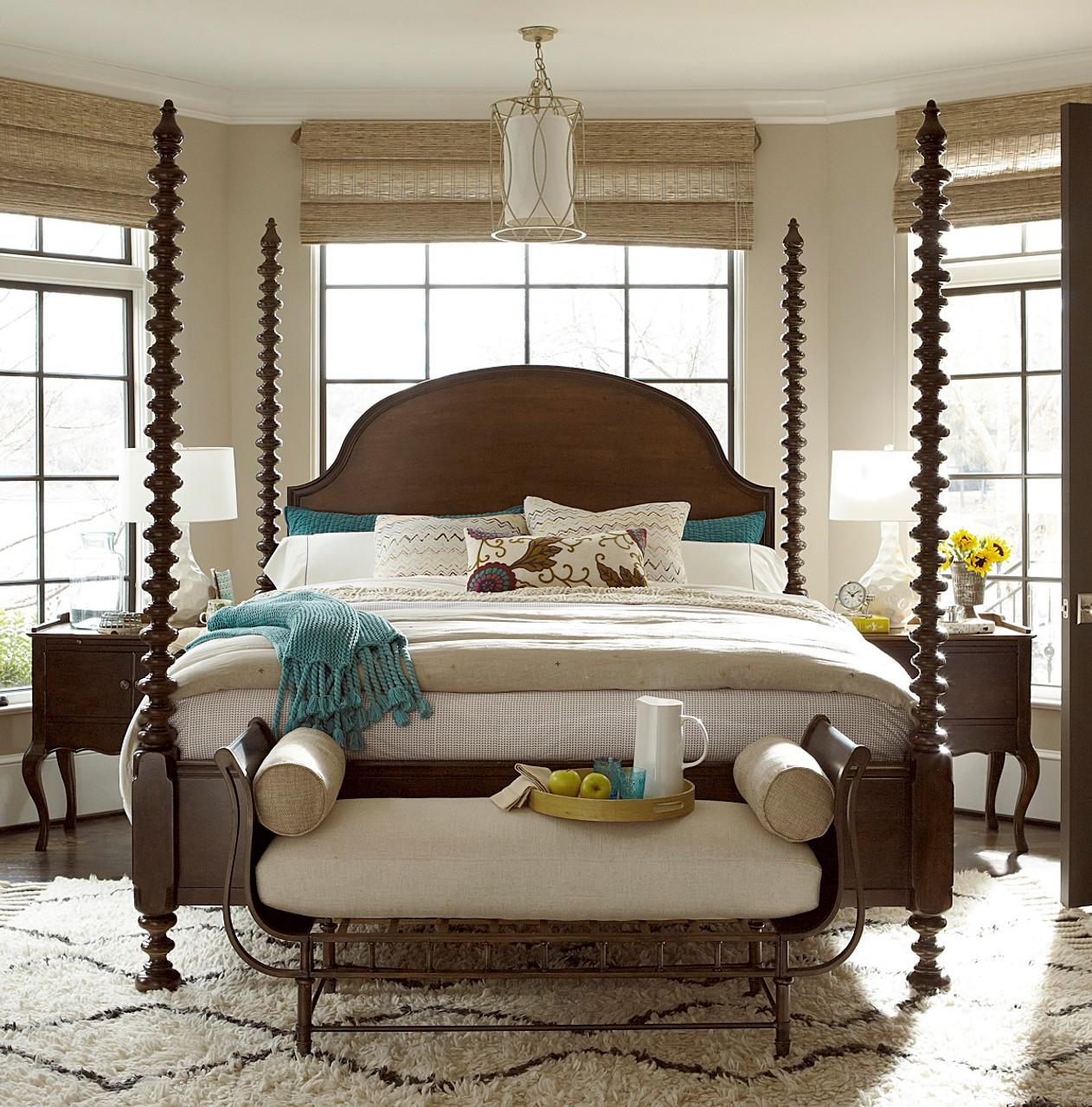 Sonoma Four Poster Queen Bedroom Set | Zin Home