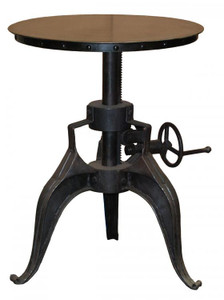 Eisen Industrial Crank Dining / Pub Table