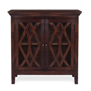 Somerset Small Wood Sideboard-Antique Brown