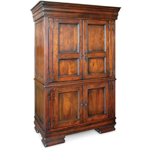 Royalty Solid Wood Bedroom Armoire