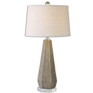 Pontius Ceramic Bronze Table Lamp