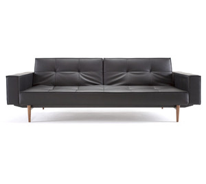 Modern Puzzle Wood Convertible Sleeper Sofa Bed