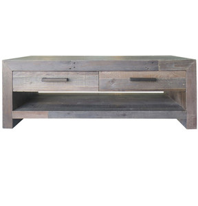 Angora Storm Reclaimed Wood 4 Drawer Coffee Table