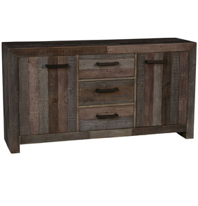 Angora Storm Reclaimed Wood Buffet Sideboard