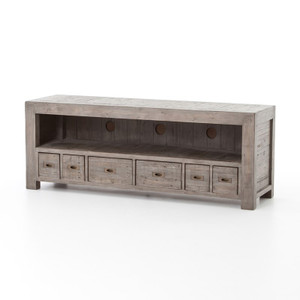 Parsons Reclaimed Wood TV Media Console - Grey