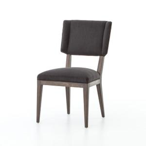 Jax Oak Wood Upholstered Dining Chair