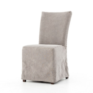 Vista Parsons Slipcovered Dining Chair