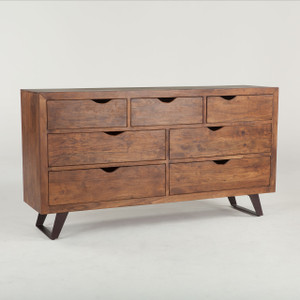 Brooklyn Loft Solid Wood 7 Drawer Dresser