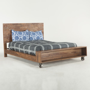 Brooklyn Industrial Loft King Platform Bed