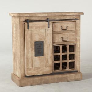 Bethlehem Steampunk Industrial Wine Bar Cabinet