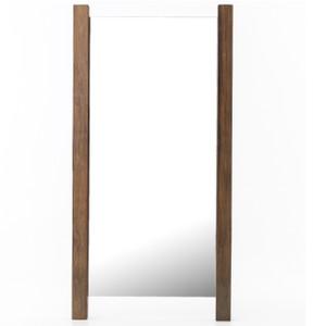 "Beldon Reclaimed Wood Rustic Floor Mirror 84"""