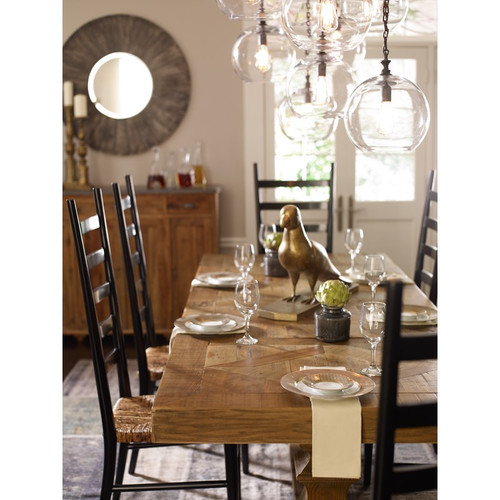 Trestle Dining Tables CASTLE 98 DINING TABLE BLEACHED