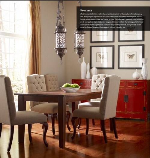 provence dining table 90 solid hardwood top rustic dining counter table zin home. Black Bedroom Furniture Sets. Home Design Ideas