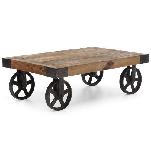Barbary Coast Factory Cart Coffee Table Zin Home