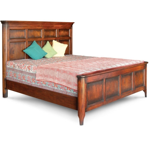 Royalty Solid Wood King Bed Frame Zin Home