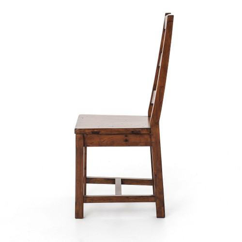 coastal dining room chairs | Coastal Rustic Reclaimed Wood Dining Room Chair | Zin Home