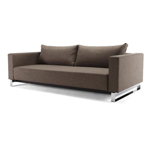 Modern cassius sleek excess sleeper sofa bed lounger zin for Sleek sofa bed
