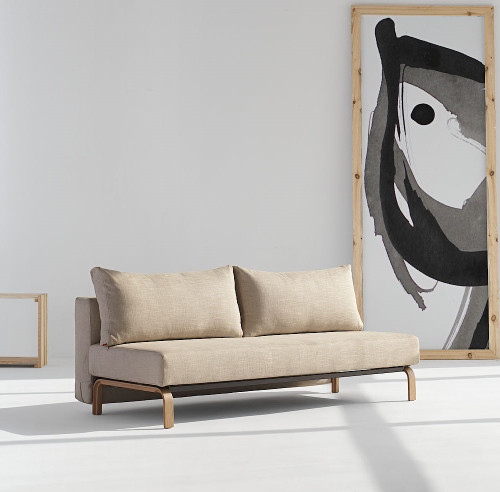 Sly Sleek Full Size Sleeper Sofa Bed Zin Home