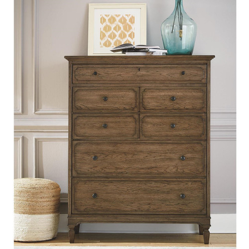 Maison Wooden 5 Drawers Tall Chest