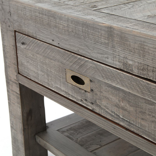 ... Grey · Parsons Solid Wood Rustic Coffee Table With 2 Drawers Sale ...