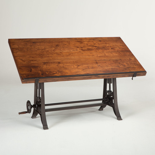 French Industrial Architect Drafting Table