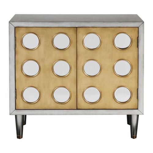 Wonderful Bea Mid Century Modern Mirrored Wine Cabinet