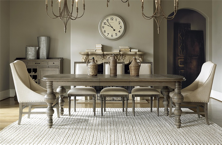 European Elegance Dining Room Design