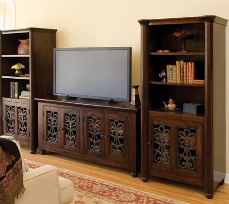 augustine plasma tv stand 65 zin home. Black Bedroom Furniture Sets. Home Design Ideas