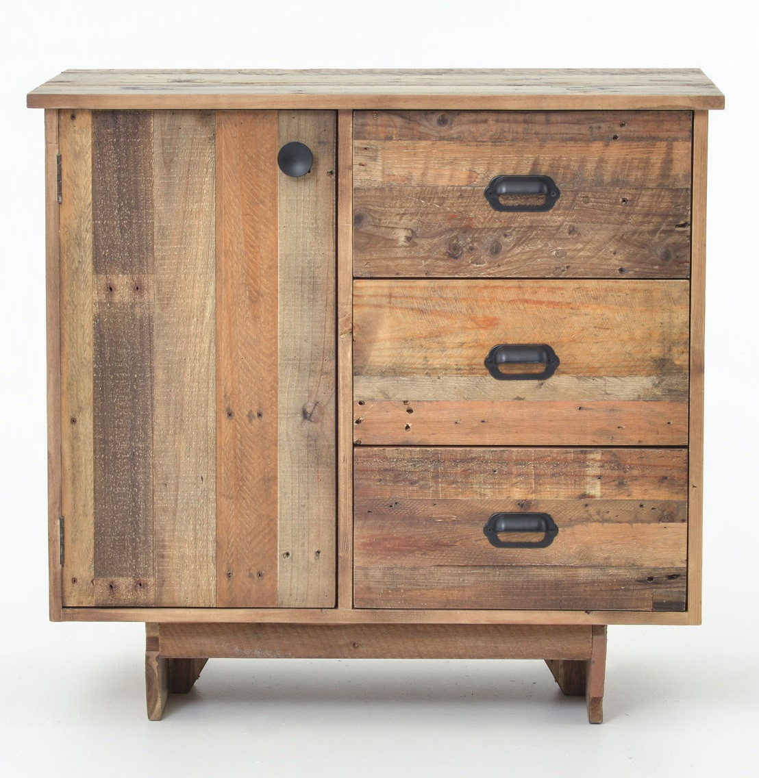 ... Angora Reclaimed Wood Small Sideboard with Drawers ... - Angora Reclaimed Natural Wood Small Sideboard Chest Zin Home