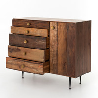 Bina Julian Reclaimed Wood Chest Dresser